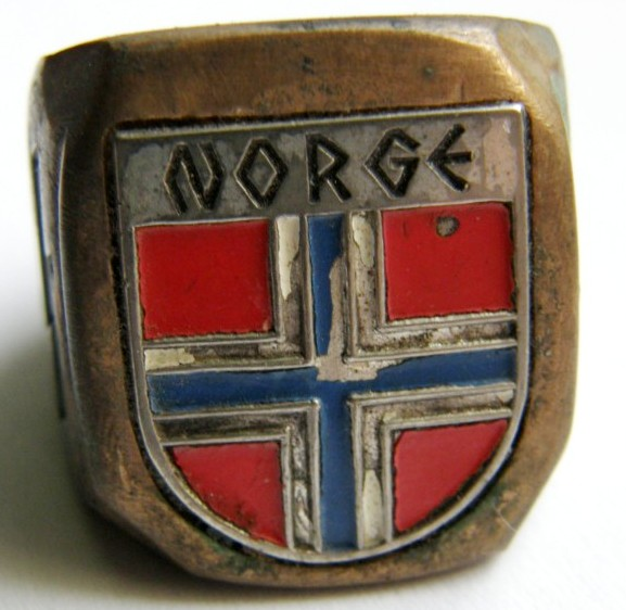 "Waffen-SS/ Anillo de la ""Germanske SS Norge"""